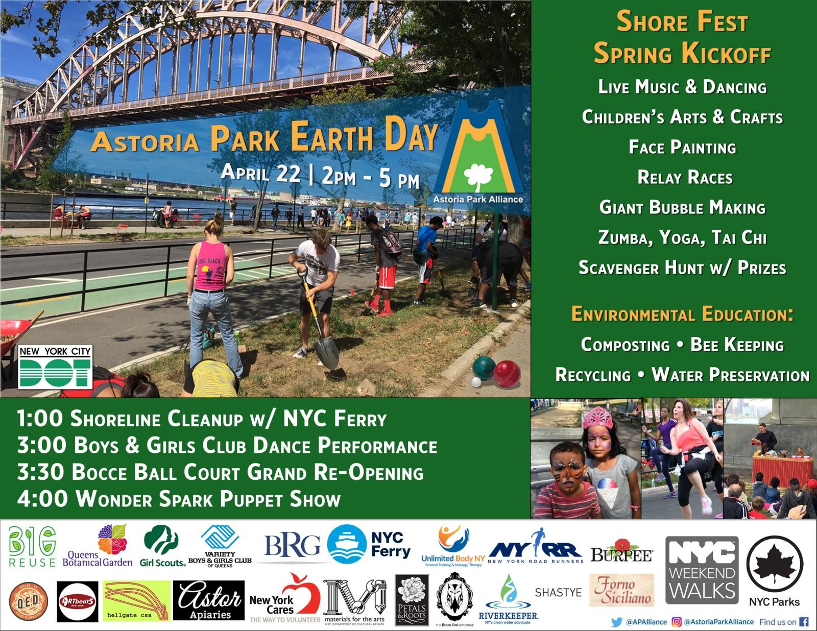 Astoria Park Earth Day Shore Fest